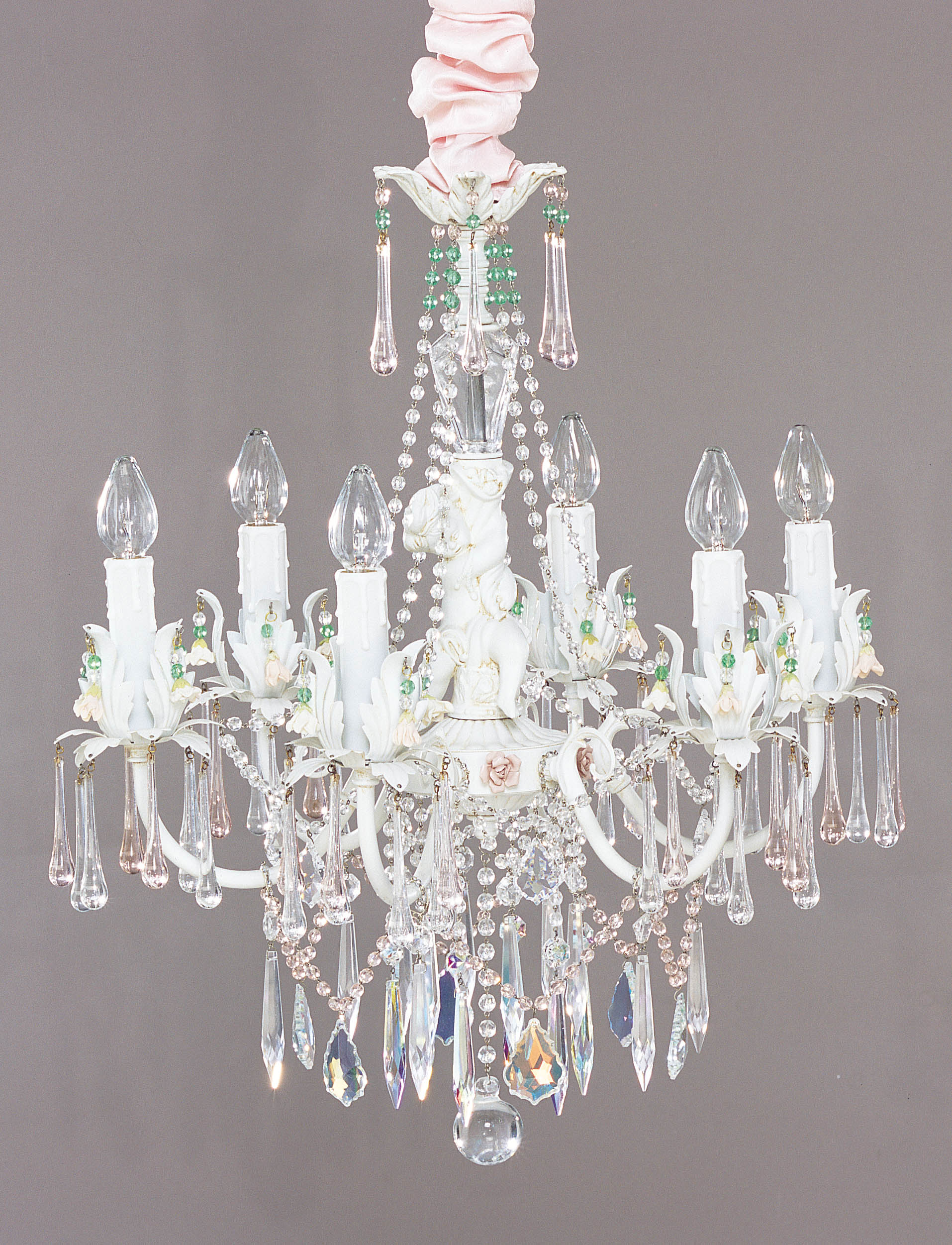I Lite 4 U Shabby Chic style Mini chandeliers & Lighting